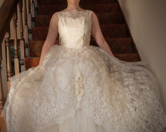 Cecilia 1950s Vintage Wedding Dress