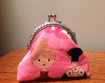 Pink Ballerina Coin Purse