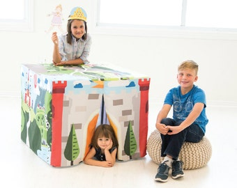 Card Table Fort- Enchanted Castle, from Hideaboo Hideouts