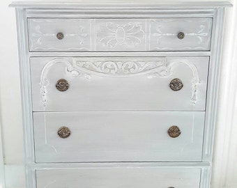 shabby chic distressed furniture. soldgray painted shabby chic dresser gray vintage distressed hand furniture d