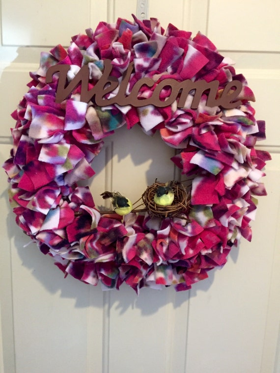 colorful summer wreath welcome wreath front door wreath