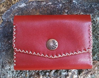 Leather Business Card Case, Personalized Business Card Holder, Leather Credit Card Holder, Leather Credit Card Case