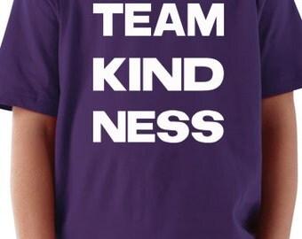 Trendy Kids Team Kindness Shirt - Unisex Kids Shirt - Gifts for Kids