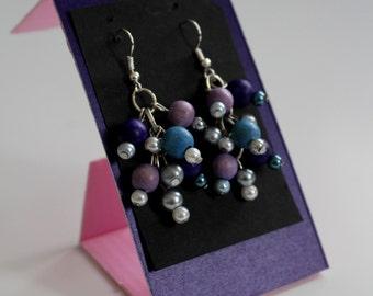 Original chic cluster earrings