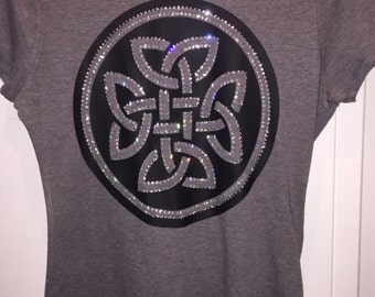 Tribal Infinity Shirt*  With or Without Rhinestones