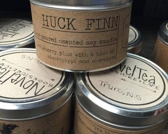 Huckleberry Finn Soy Wax Candle