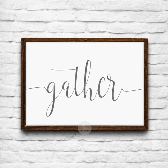 Effortless image regarding gather printable