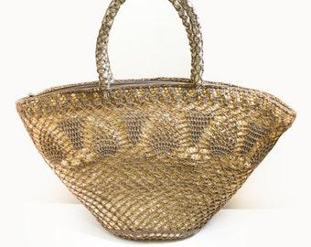Beach Bag/Market Bag/Shoulder Bag/Picnic Bag/Tote Bag/Basket Bag