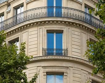 France, Paris, Paris photography, Paris house, Paris balcony, large wall art, Paris street, Paris print, fine art #105