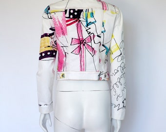 Christian Lacroix Jeans vintage cotton denim jacket size 40