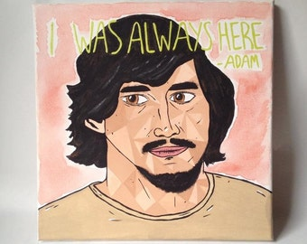 Adam Sackler - HBO 'GIRLS' Painted Canvas