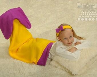 Mermaid Tail, Mermaid Tail Blanket, kids mermaid tail, birthday gift, baby blanket, fleece, unique gift, princess ariel, sleeping bag