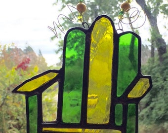 Stained Glass Adirondack Chair