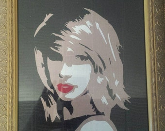 CUSTOM Duct Tape Portraits/Art Pieces