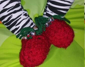 Jingle bell booties