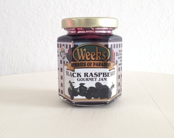 Black Raspberry Gourmet Jam 8 oz - Utah's Own