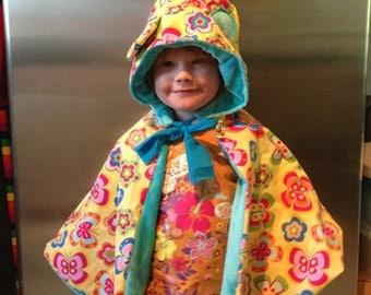 Spring Babywearing/Car seat poncho