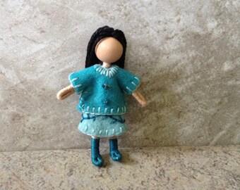 Little Sister Jessie -  Pocket Doll, Bendy Doll