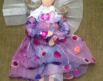 Handmade Fairy Princess Angel Doll