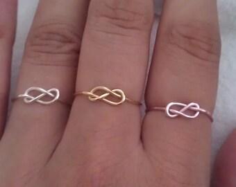 Dainty Infinity Ring