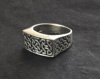 Mens Band, Silver Band, Silver Wedding Band, Silver Rings
