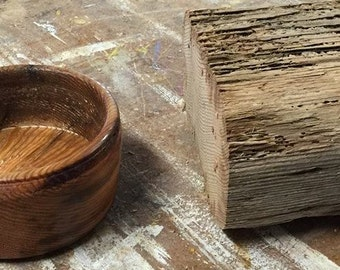 Handcrafted Wooden Driftwood Bowl