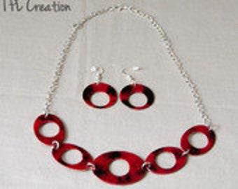 Parure necklace + loop