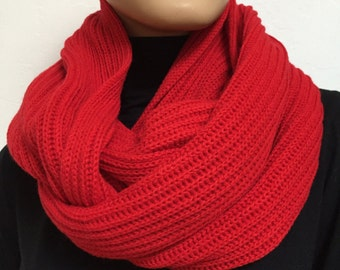 Loop scarf cashmere / cashmere infinity scarf