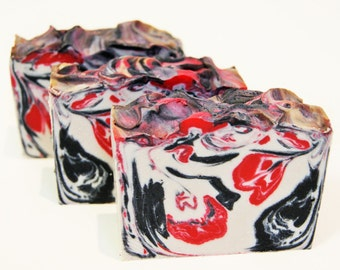 Dragon's Blood, handmade soap, natural soap, australian soap, cold process soap, Shae Scentials