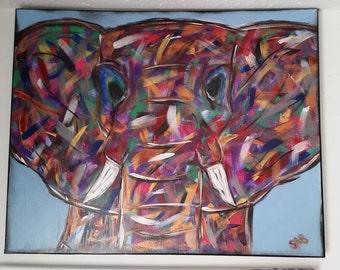 Technicolor Elephant