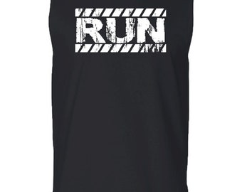 Run Man'S Fitness t-shirt,Gym Tank Fitness t-shirt, Men's tank top, Workout Clothes, Workout, Workout Tank, Run Tank, Running Clothe for Men