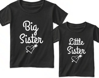 Big Sister Little Sister Matching Outfits, Big Sis Little Sis Shirts, Matching Sister Outfits, Matching Sister Shirts,