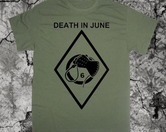 Death in June Whip Hand T Shirt Non Boyd Rice Coil Nurse with Wound Current 93 Blood Axis Scorpion Wind :Of the Wand & the moon Fire + Ice