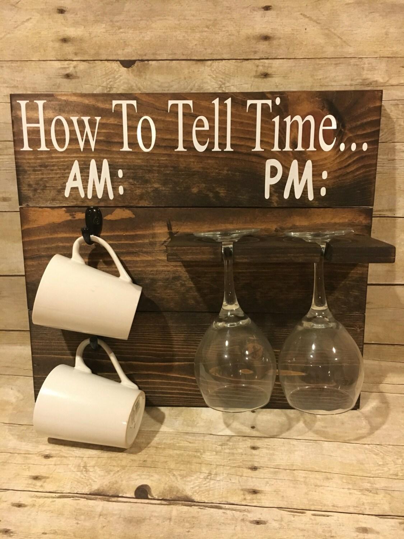 Am And Pm Coffee Wine Rack