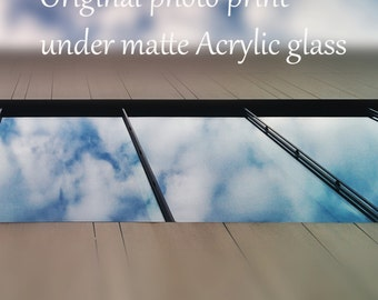 any photo print under matte acrylic glass