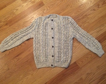 Handknit Vintage Wool Sweater