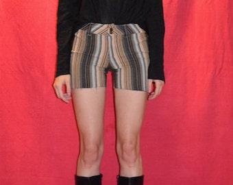 70s Chevron Stripe Shorts