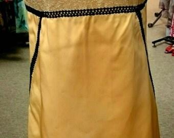 Vintage 1960's Gold Dress!