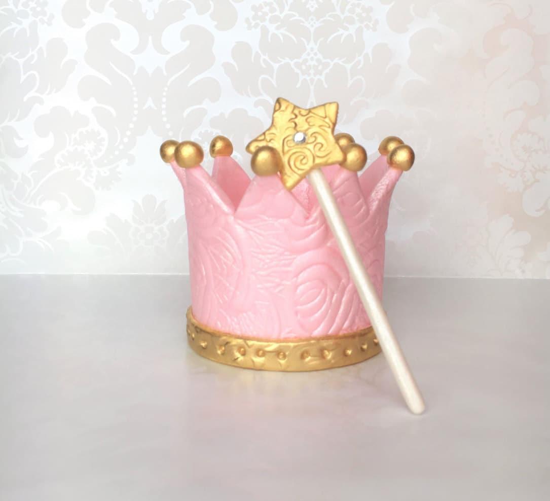Crown Cake Topper Etsy
