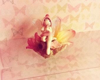 pink Fairy, Flute fairy, Fairy, pixie