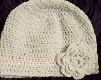 Girls crocheted hat