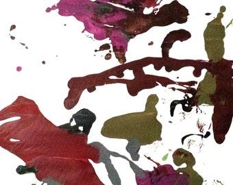 """Splatter Painting by Benjamin Marcus - """"Overlook"""""""