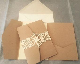 Kraft Paper Pocket Envelopes