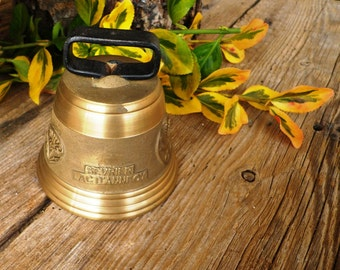 Remember Bell bronze - Bell collection - miniature Bell - bell - Brass bell - Collection Bronze Bell - Collector bell