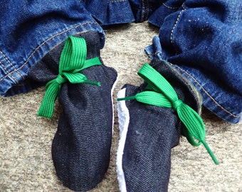 Itty Bitty Baby Booties- The Maverick