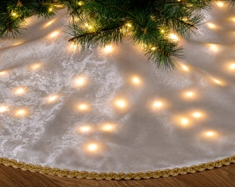 Christmas tree skirts - Etsy