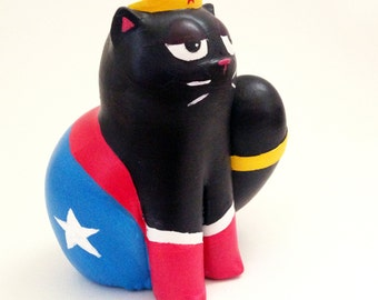 Wonder Cat Figurine