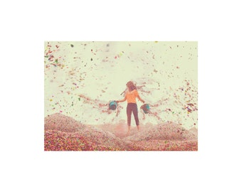 Glistening Hope. Small Decorative Print. Whimsical Fine Art Photography