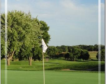Golf 19th Hole LAMINATED Cornhole Wrap Bag Toss Decal Baggo Skin Sticker Wraps