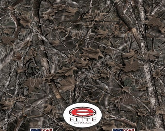 "Woodland Ghost 15""x52"" or 24""x52"" Truck/Pattern Print Tree Real Camouflage Sticker Roll or Sheet"